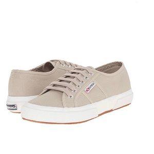 """Superga Classic """"Cotu"""" Taupe Sneakers"""